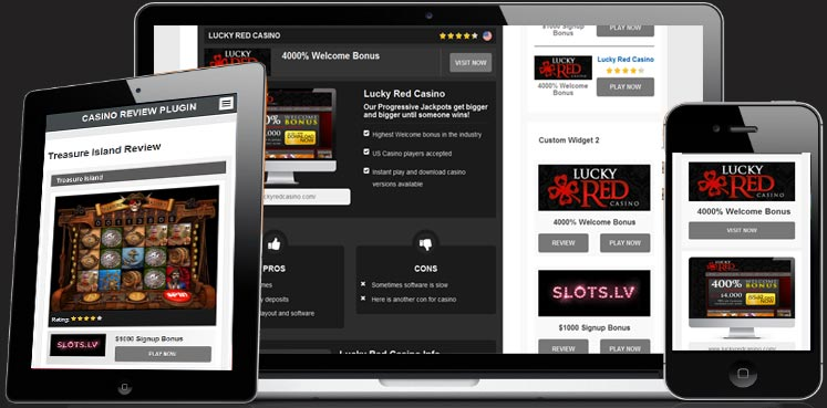 Casino Review WordPress Plugin