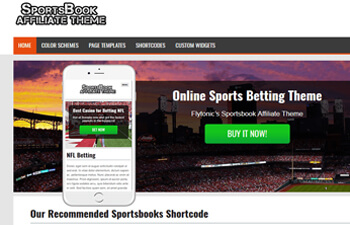 sports betting affiliate theme