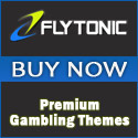 Flytonic poker, casino, and gambling themes