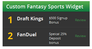 Fantasy Sports Widget