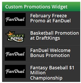 Promotions Widget