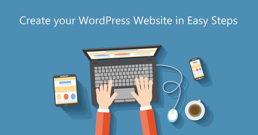 using wordpress to build your website