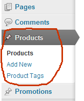 products post type 1