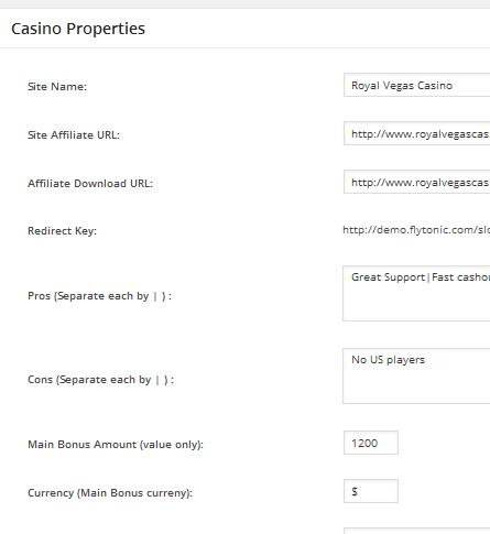 Casino Properties