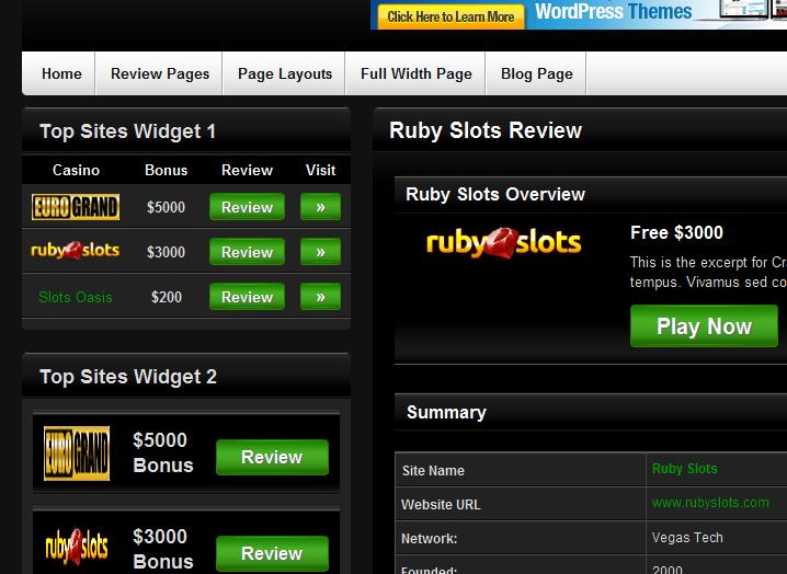 Gambling affiliate wordpress themes / Free slots for fun no downloads