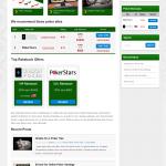 green version poker theme