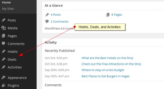 hotel post types