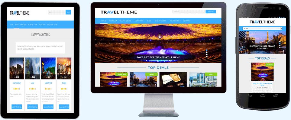 Travel Affiliate Theme Wp Travel Wordpress Theme