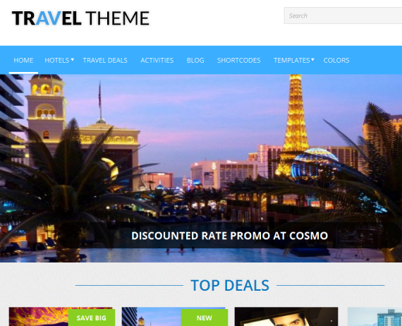 travel affiliate theme