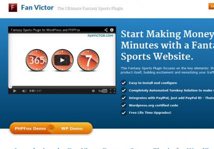 fan victor fantasy sports plugin