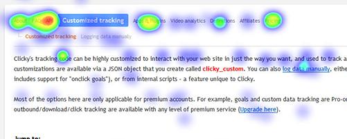 clicky analytics software