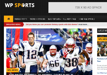 sports news and fantasy sports theme