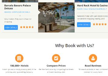 hotel affiliate theme