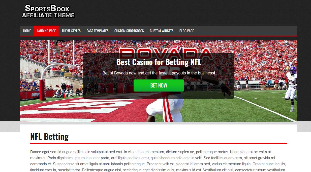WordPress Betting Theme | Sports Betting & Sportsbook Theme