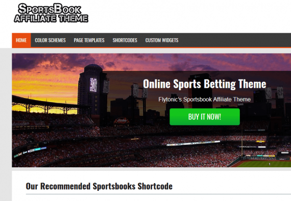 SportsBook Affiliate Theme