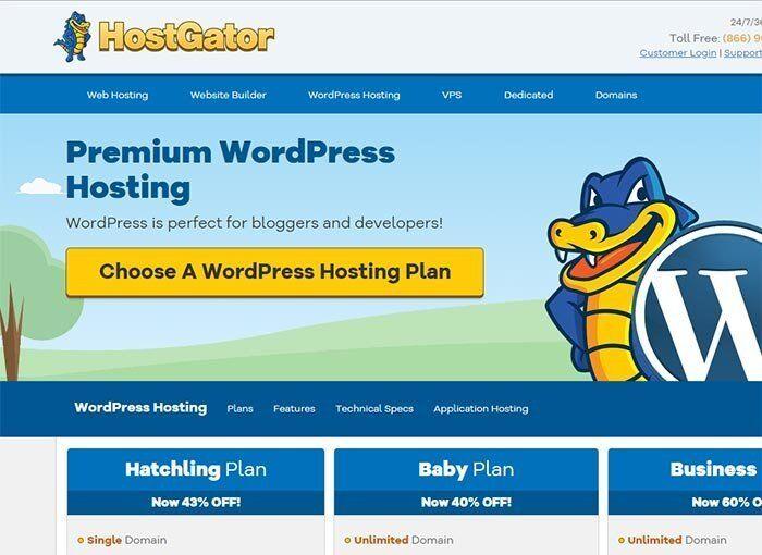 Hostgator window hosting