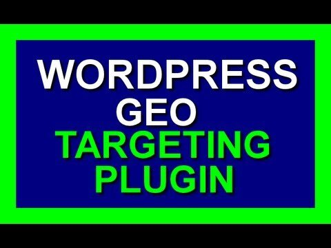 GEO Target plugin