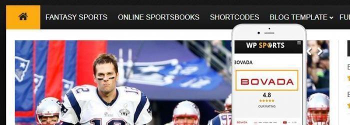 WP Sports WordPress Theme