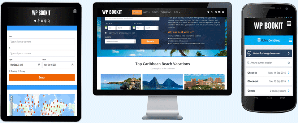 WP Bookit Theme gambling themes