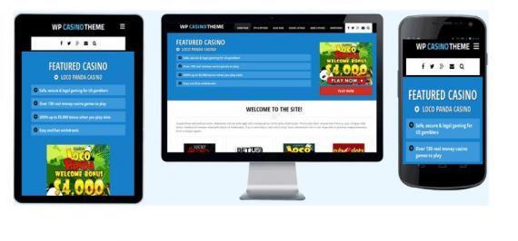 Free Casino WordPress Theme