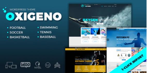 Oxigeno-–-Sports-Club-Team - sports betting website template