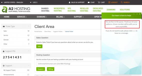 A2 Hosting- wordpress hosting price comparison