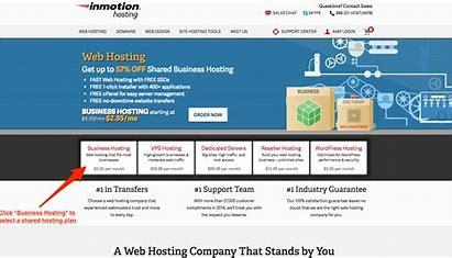 InMotion- wordpress hosting price comparison