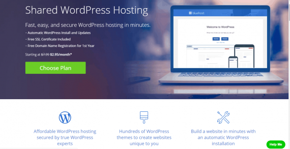 bluehost- best web hosting