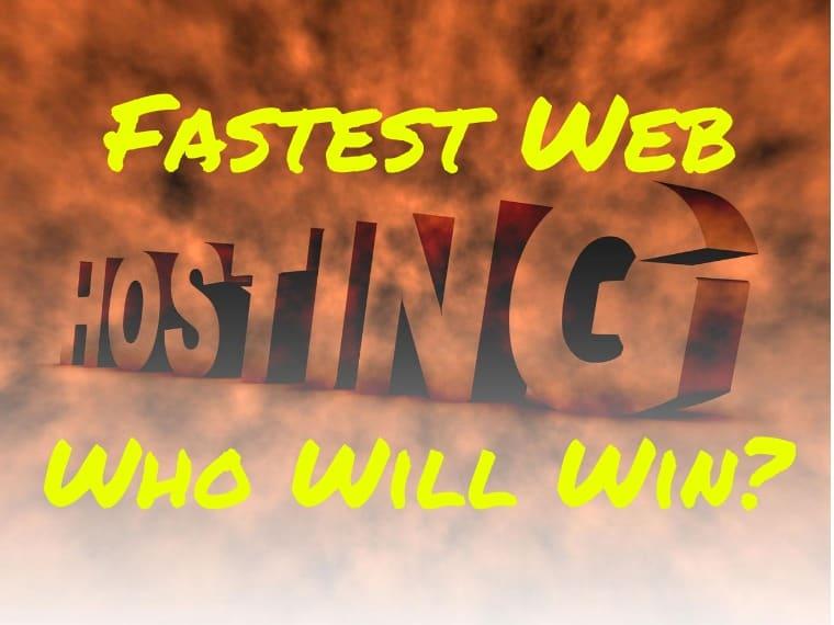 Fastest WordPress Hosting 2020: fast web hosting for WordPress sites!