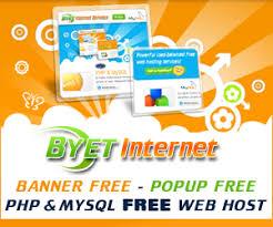 Byet.host - free web hosting