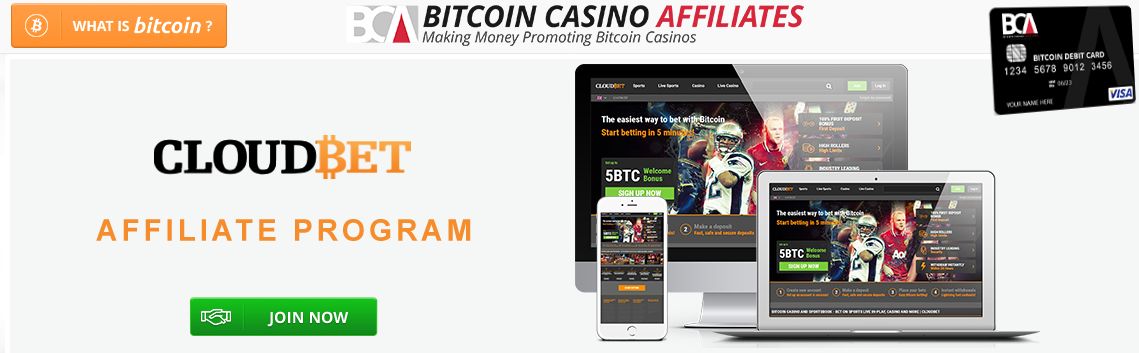 Cloudbet-Affiliate-Program-Offers-Online Casino Affiliate Programs