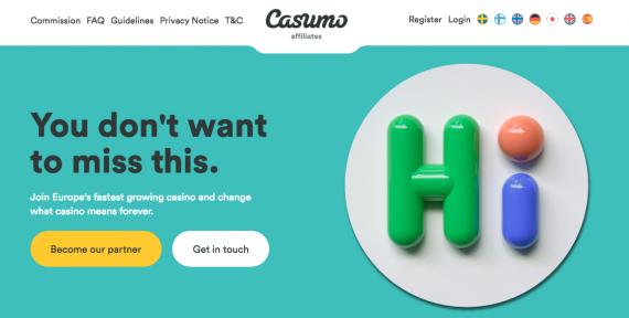 CASUMO AFFILIATES - casino affiliate programs for japanese players
