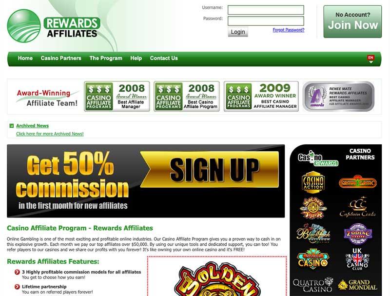 rewards-affiliates - Casino Affiliate Programs in Canada
