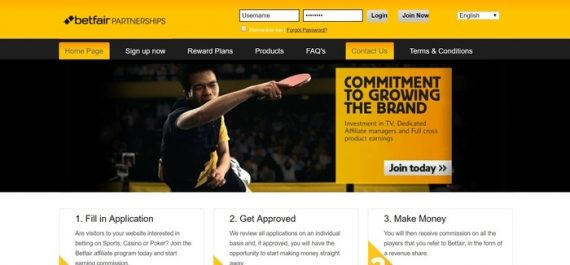 Betfair-Affiliate-Program - Sports Betting Affiliate Programs In Australia