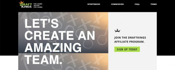 DraftKings-Fantasy Sports Affiliates-Program - Sports Betting Affiliate Programs In Canada