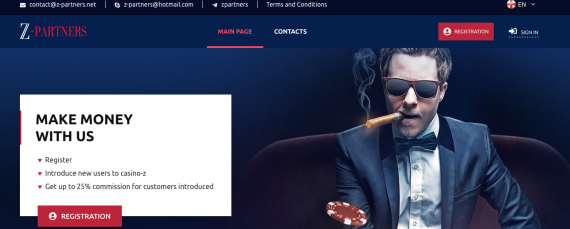 z-partners casino affiliate program