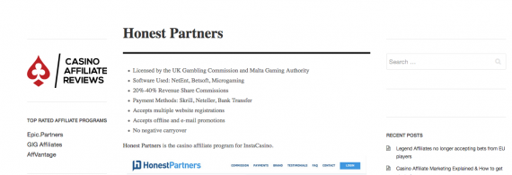 Honest-Partners