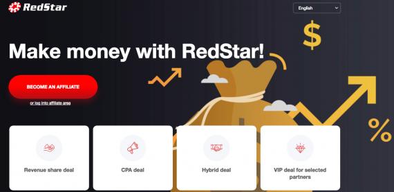 RedStar-Affiliates - Best COLUMBIA Casino Affiliate Programs